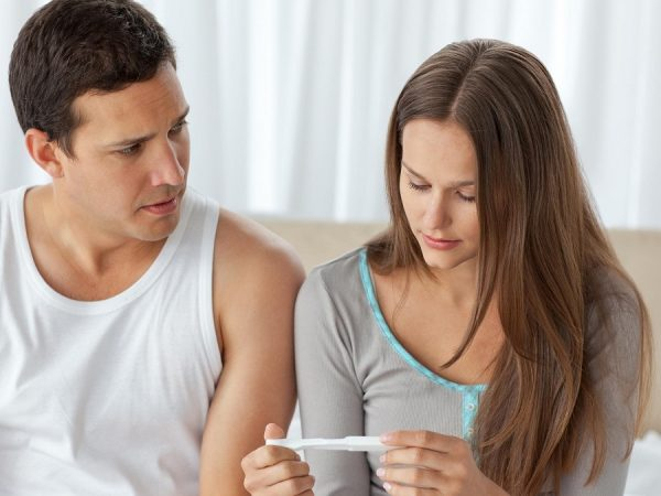 How is male inability to conceive identified?